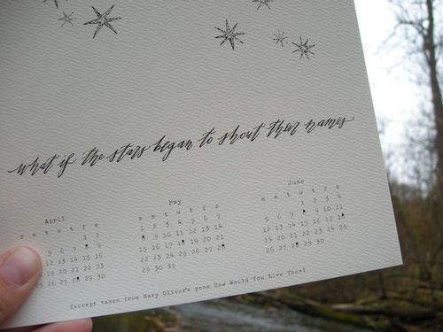 Nature's splendor calendar