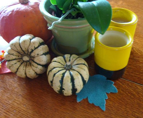 Painted pumpkins 5