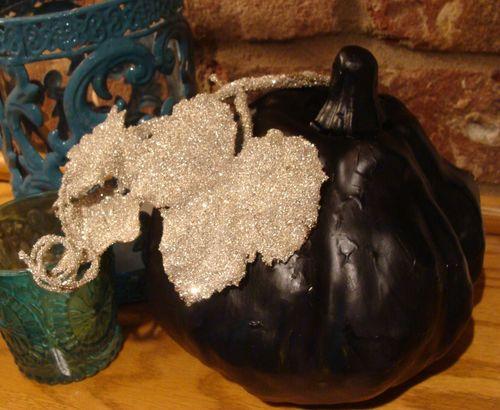 Black pumpkin 1