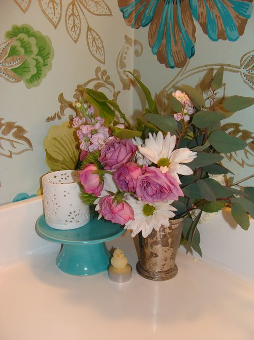 Easter bathroom