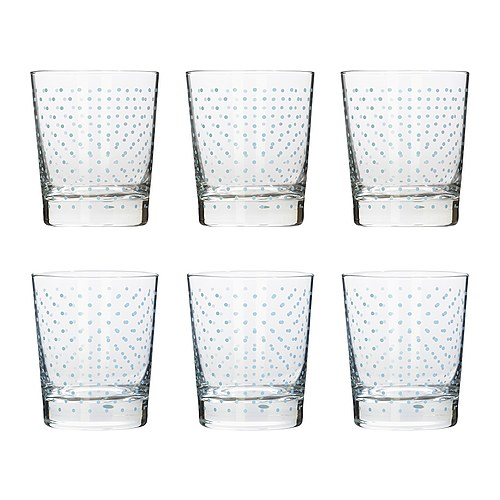 Polka dot ikea glasses